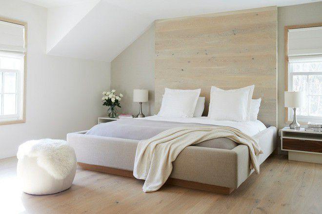 Xu hướng nội thất-đệm giường ngủ màu trắng 5