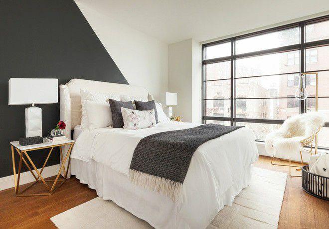 Xu hướng nội thất-đệm giường ngủ màu trắng 8